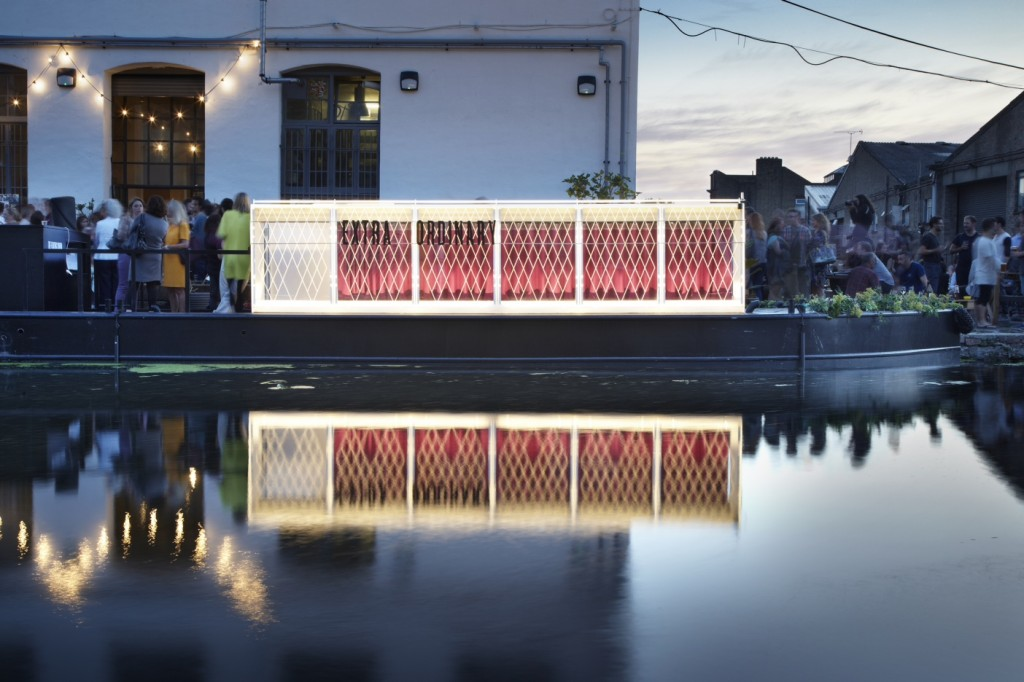The Floating Cinema, designed by Duggan Morris Architects. Photo: Jack Hobhouse
