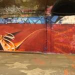 Graffiti Canary Wharf – Heat 2