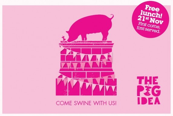 Come swine with us