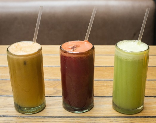 Freshly Juiced Juices