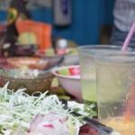 Summer menu tasting and sampling with the wahaca team