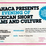 Wahaca Presents… An evening of Mexican short films and culture