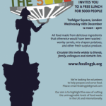 Feeding the 5000, Trafalgar Square December 16th