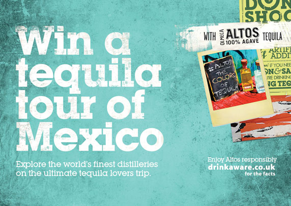 Win a tequila tour of Mexico