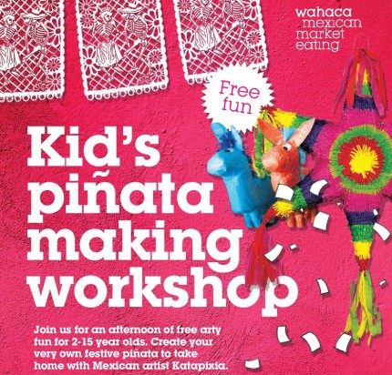 Free arty fun for kids this December!