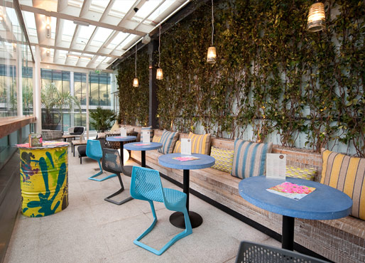 Terrace bar wahaca for The terrace bar and food